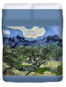 The Olive Tree Duvet Cover