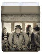 The Omnibus Duvet Cover