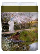 The Orchard Brook  Duvet Cover