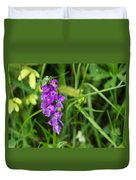 The Orchid And The Grasshopper  Duvet Cover