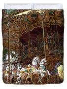 The Original French Carousel Duvet Cover