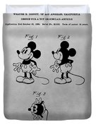 The Original Mickey Mouse Patent Design Duvet Cover