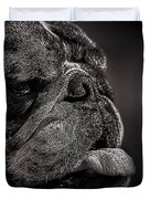 The Other Dog Next Door Duvet Cover by Bob Orsillo