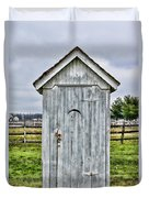 The Outhouse - 2 Duvet Cover
