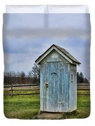 The Outhouse - 4 Duvet Cover