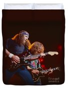 The Outlaws - Hughie Thomasson And Billy Jones Duvet Cover