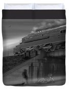 The Overpass 2 Panoramic Duvet Cover