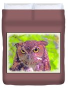 The Owl... Duvet Cover