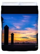 The Painted Sky Duvet Cover