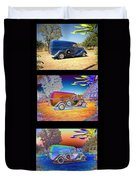 The Panel - Collage Duvet Cover