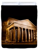 The Pantheon At Night - Painting Duvet Cover