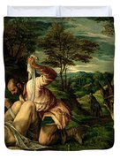 The Parable Of The Good Samaritan Duvet Cover