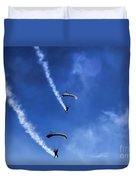 The Parachutists V5 Duvet Cover
