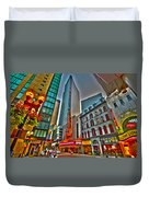 The Paramount Center And Opera House In Boston Duvet Cover