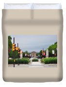 The Parkway And Art Museum Duvet Cover