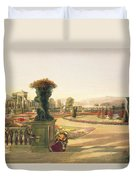 The Parterre  Trentham Hall Gardens Duvet Cover
