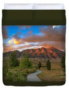 The Path To Beauty Duvet Cover
