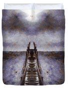 The Path To Heaven Duvet Cover by Dan Sproul