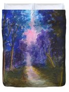 The Path Up Yonder Duvet Cover