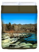 The Payette River Duvet Cover