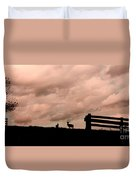 Nature The Peace Of Dusk Duvet Cover