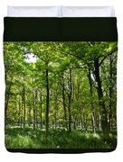 The Peaceful Forest  Duvet Cover