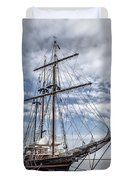 The Peacemaker Tall Ship Duvet Cover