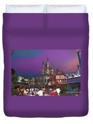 The Peasants View Duvet Cover