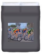 The Peloton Duvet Cover