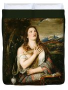 The Penitent Magdalene Duvet Cover
