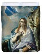 The Penitent Mary Magdalene Duvet Cover