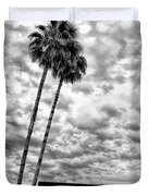 The People Are The City Palm Springs City Hall Duvet Cover