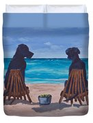 The Perfect Beach Day Duvet Cover