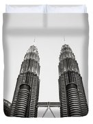 The Petronas Towers Malaysia Duvet Cover