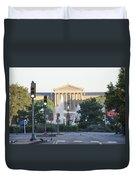 The Philadelphia Art Museum From The Parkway Duvet Cover