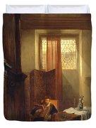 The Philosopher Duvet Cover