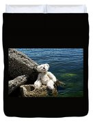 The Philosopher - Teddy Bear Art By William Patrick And Sharon Cummings Duvet Cover