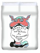 The Philosophers Tool Duvet Cover