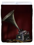 The Phonograph 5 Duvet Cover