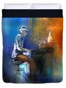 The Pianist 01 Duvet Cover