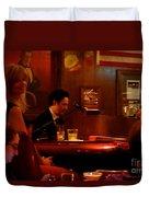 The Piano Bar Duvet Cover