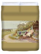 The Picture Book Duvet Cover