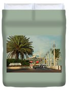 The Pier 2 -  St. Petersburg Fl Duvet Cover