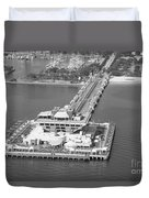 The Pier St Petersburg Fl Duvet Cover