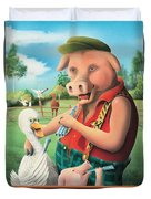 The Pig & Whistle Duvet Cover