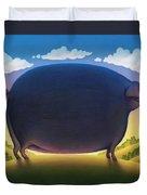 The Pig Duvet Cover