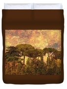 The Pines Of Rome Duvet Cover