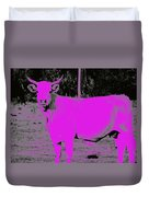 the Pink Cow Duvet Cover