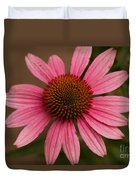 The Pink Daisy Duvet Cover
