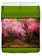The Pink Forest Duvet Cover